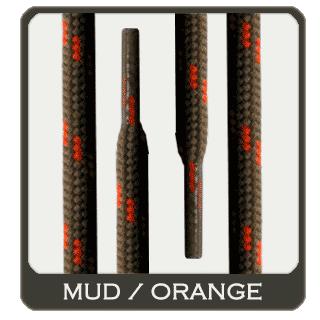 schn rsenkel f r arbeitsschuhe wanderschuhe schlamm orange pfi getestet ebay. Black Bedroom Furniture Sets. Home Design Ideas